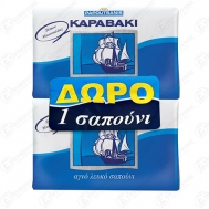 Papoutsanis Καραβάκι Αγνό Σαπούνι με χαμομήλι 4x125 gr