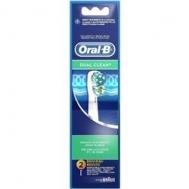Oral B Dual Clean Ανταλλακτικά 2 Τεμάχια