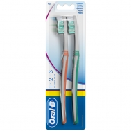 Oral B Οδοντόβουρτσα Classic Care 1 2 3     1+1 Δώρο