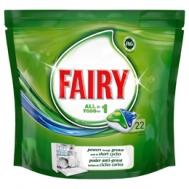 Fairy  Original Ταμπλέτες Πλυντηρίου Πιάτων All in 1 22 Τεμάχια