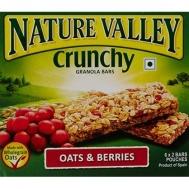 Nature Valley  Μπάρες Δημητριακών  Μουσλι &  Berries 6Χ42 gr
