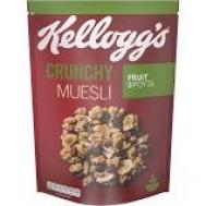 Kellogg's Crunchy Muesli με Φρούτα 500gr