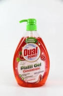 Dual Power  Aloe & Pomegrano Υγρό Πιάτων  1000 ml