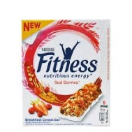 Nestle Fitness Bars Red Berries   6 X23.5
