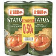 Elite Status Φρυγανιά Ολικής Άλεσης 2x100 gr (-0.50 €)