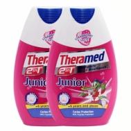 Theramed Junior Οδοντόκρεμα & Στοματικό Διάλυμα 6+ Ετών 2x75 ml 1+1 Δώρο