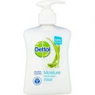 Dettol Moisture Aloe Αντιβακτηριδιακό Κρεμοσάπουνο 250 ml