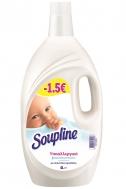 Soupline Μαλακτικό Υποαλλεργικό με Απαλό Γάλα Αμυγδάλου 4 lt