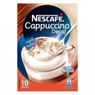 Nescafe Cappuccino Στιγμιαίο Ρόφημα Χωρίς Καφεΐνη 10x12,5 gr