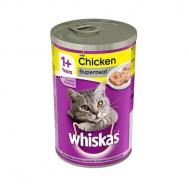 Whiskas Κονσέρβα  Γάτας  Ζελέ Κοτόπουλο 390 gr