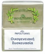 Papoutsanis  Σαπούνι  Πράσινο 4x125 gr