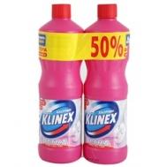 Klinex Ultra Χλωρίνη Pink Power 2 x 1250 ml