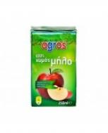 Agros Μήλο 100% Φυσικός Χυμός 0.25 L