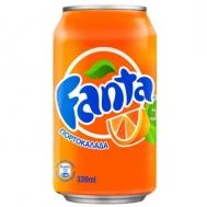 Fanta Πορτοκαλάδα  330 ml