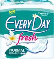 Everyday Fresh Normal Ultra Plus  Σερβιέτες 10 Τεμάχια