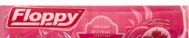 Floppy Σακούλες Απορριμμάτων  με Κορδόνι  52x75  Strawberry   10 Τεμάχια