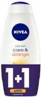Nivea Care & Orange Αφρόλουτρο 750 ml 1+1 Δώρο