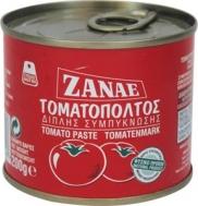 Zanae Τοματοπολτός Διπλής Συμπύκνωσης 200 gr