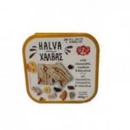 Μεζαπ Χαλβάς Σοκολάτα Μπισκότο & Μπανάνα 400 gr
