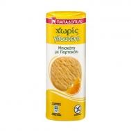 Παπαδοπούλου Μπισκότα με Πορτοκάλι Χωρίς Γλουτένη 200 gr