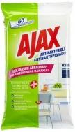 Ajax Βιοδιασπώμενα Αντιβακτηριακά Πανάκια Καθαρισμού 60 Τεμάχια