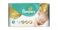 Pampers Premium care New Baby  No 1  41 Τεμαχια