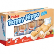 Ferrero Kinder Happy Hippo με Γάλα 103.5 gr