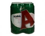 ΆΛΦΑ Μπύρα  4 Χ 500 ml