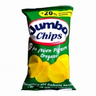 Jumbo Πατατάκια με Ρίγανη 120 gr (+20% Περισσοτερο Προιον)