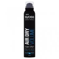 Syoss  Airdry Αφρός Volume 200 ml