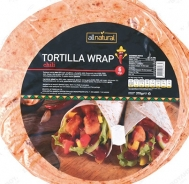All Natural Τορτίγια  Wrap Chili  6 Τεμάχια 370  gr