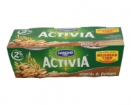 Activia Γιαούρτι με Καρύδι και Βρώμη2 Χ 200 gr