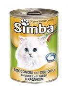 Simba Γατοτροφή Κουνέλι 400 gr