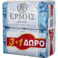 Ερμής  Classic Σαπούνι  3+1 125 gr
