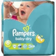 Pampers Baby Dry No 6 33 Τεμαχια