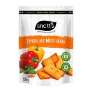 Snatts Μεσογειακές Φουρνομπουκίτσες με Πάπρικα 120 gr