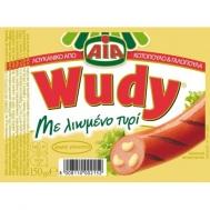 Wudy Λουκάνικα Κοτόπουλο & Γαλοπούλα  με Τυρί  150  gr