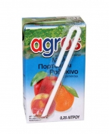 Agros Κοκτέιλ Νέκταρ 0.25 L