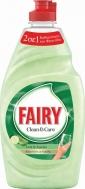Fairy Clean & Fresh Υγρό Πιάτων Αλόη & Αγγούρι 400 ml