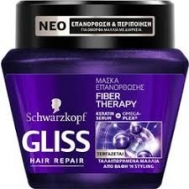 Gliss  Fiber Therapy  Μάσκα Μαλλιών 300 ml