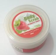 Beauty Line Πήλινκ Σώματος με Άρωμα Γιαούρτι & Φράουλα 200 ml