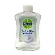 Dettol  Soft  on Skin  Hard on Dirt Αντιβακτηριδιακό Κρεμοσάπουνο   Αντ/κο 250 ml