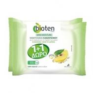 Bioten Μαντηλάκια Καθαρισμού Normal Skin 20 Τεμάχια + 20 Δώρο