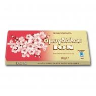 ΙΟΝ Σοκολάτα Λευκή Αμυγδάλου 90 gr