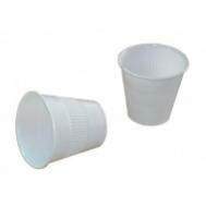 Ποτήρια μιας Χρήσης Λευκό 130 ml 50 τεμάχια