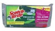 Scotch Brite Σφουγγάρια 3 Τεμάχια