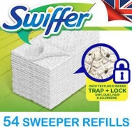 Swiffer Ανταλλακτικά Πανάκια  54 Τεμάχια