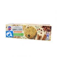 Αλλατίνη Μπισκότα  Ολικής  Άλεσης 3 Δημητριακά  Σταφίδες &  Κανέλα 220 gr