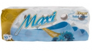 Maxi Decor Χαρτί Υγείας 10 Ρολά  4 Φυλλο touch of Silk
