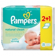 Pampers Fresh Clean Μωρομάντηλα 3 x 64 Τεμάχια 2+1 Δώρο